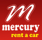 Mercury Rent a car Logo